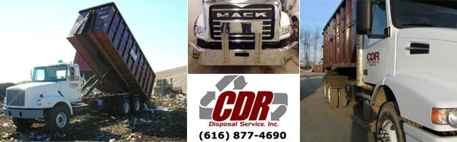 Dumpster rentals in Grand Rapids, Muskegon and Kalamazoo
