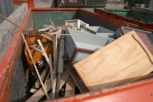 junk removal and dumpster service in Wayland, MI