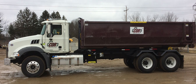 Dumpster rental in Kalamazoo MI from CDR Disposal